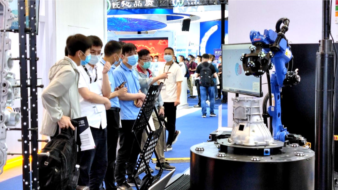 On-site demonstration for automated 3D detection system of AutoScan-T