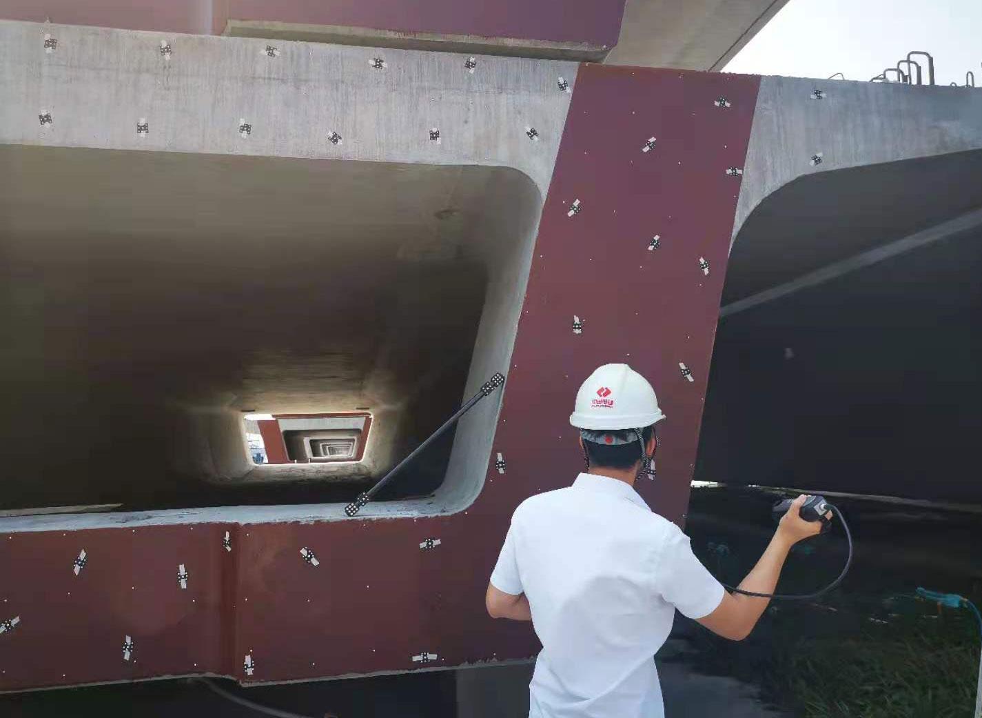 Application of KSCAN-MAGIC 3D Scanner in Railway Bridge Inspection 3