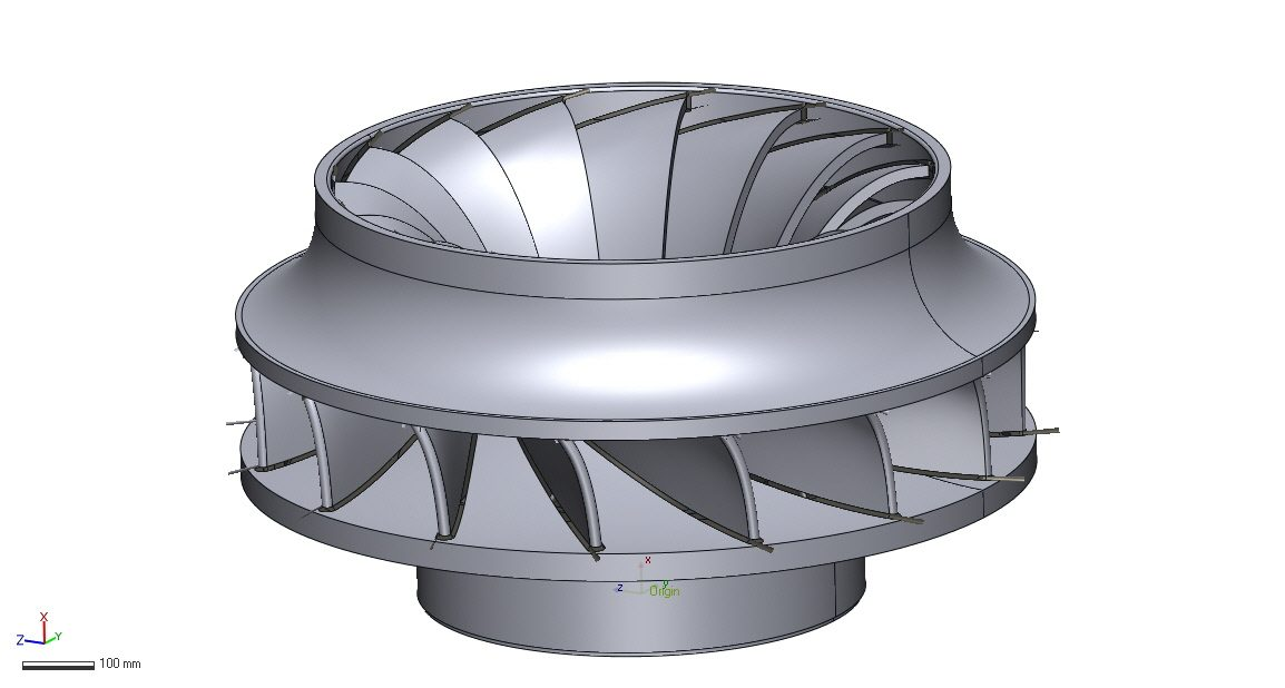 Reverse engineering to obtain CAD model
