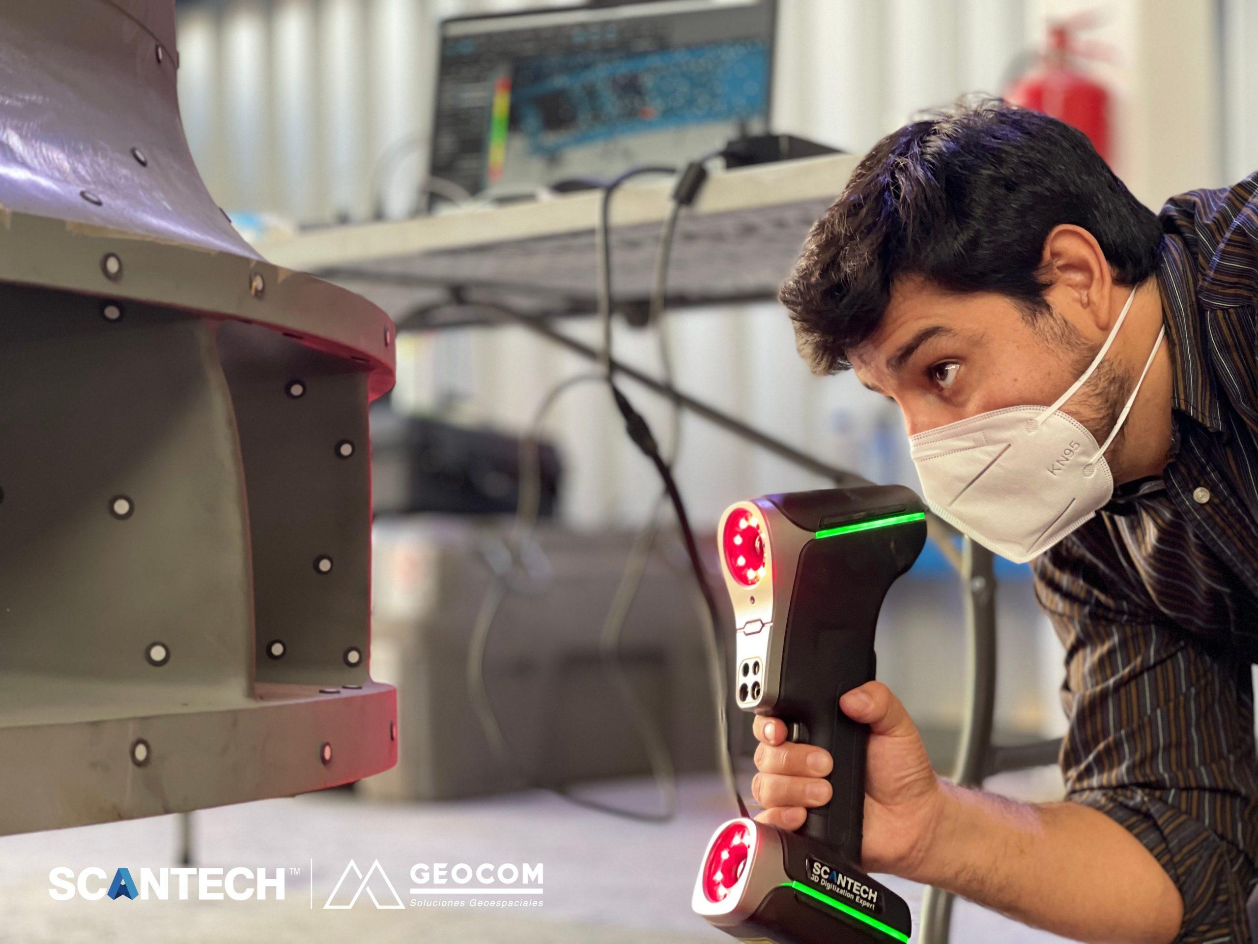 turbine reverse transformation case from the Chilean company GEOCOM