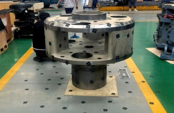 3D scanning a planet carrier gear