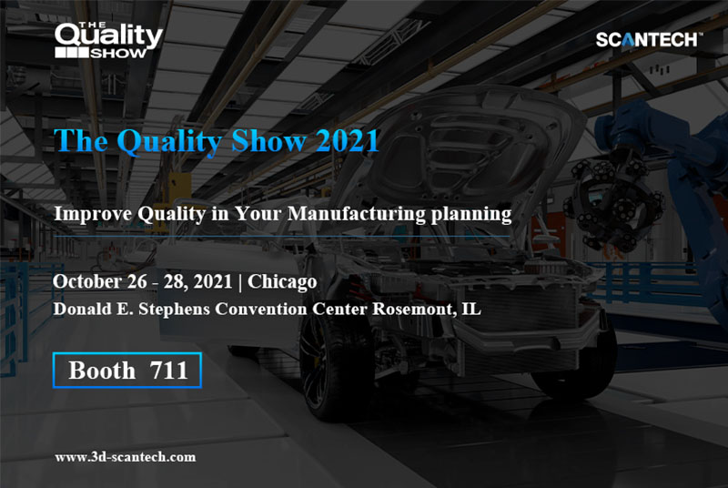 SCANTECH at The Quality Show 2021 1